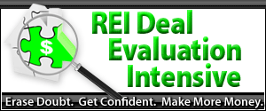 REI Deal Evaluation Intensive